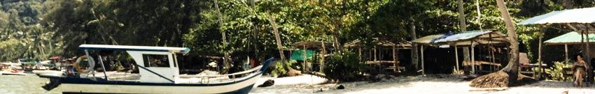 Monkey Beach und Leuchtturm