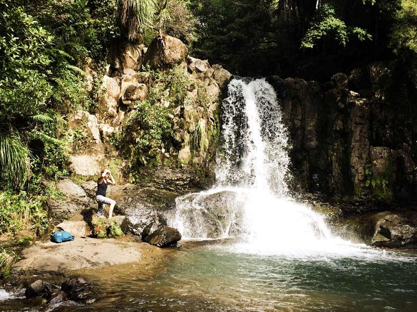 Am-Wasserfallpool