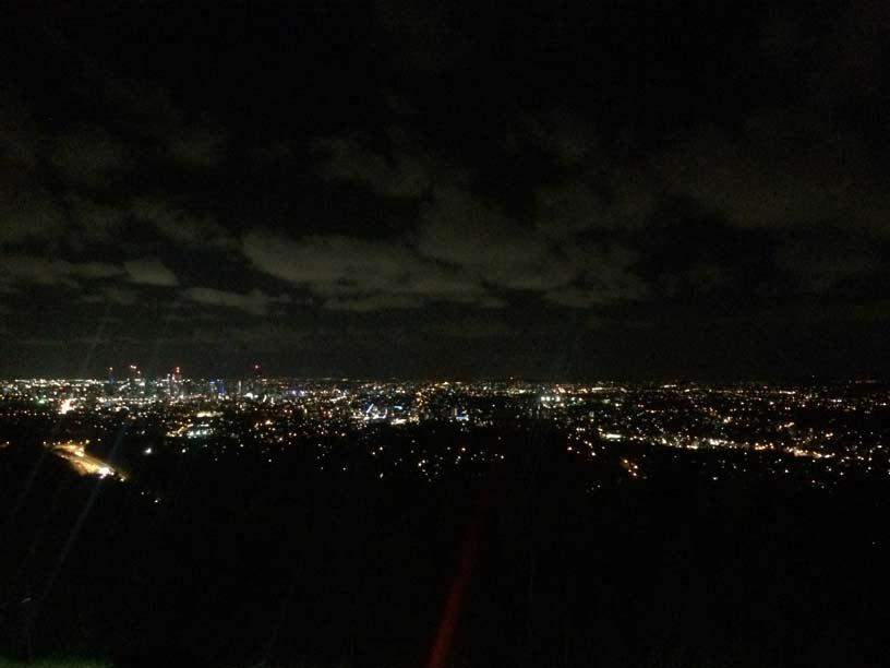Brisbane-nacht