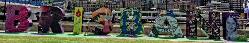 Brisbane und zurück nach Sydney