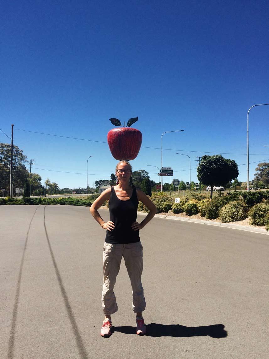 Pause-mit-Apfel-