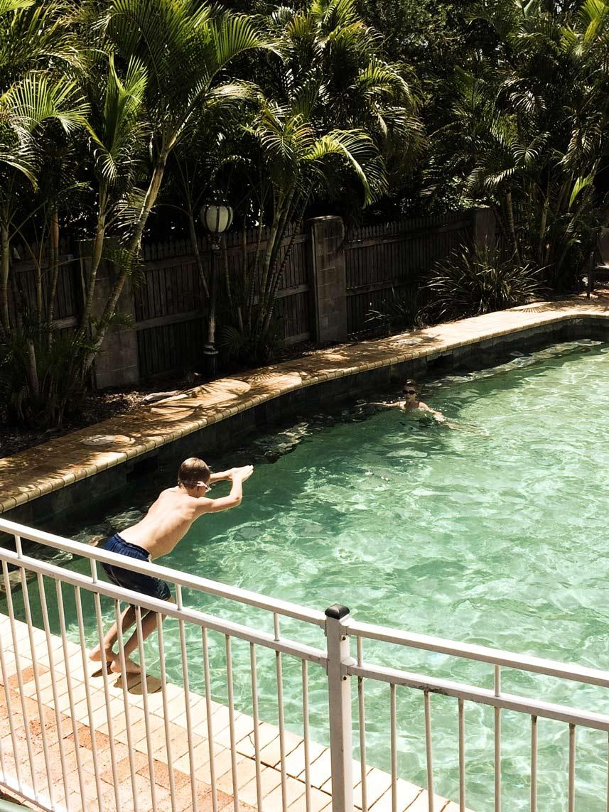 Pool-am-Motel